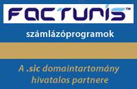 Facturis számlázóprogramok - A .sic domaintartomány hivatalos partnere.